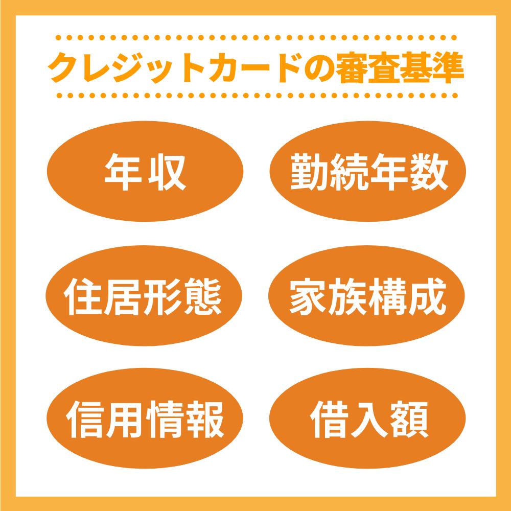 【基礎知識編】クレジットカードの審査基準