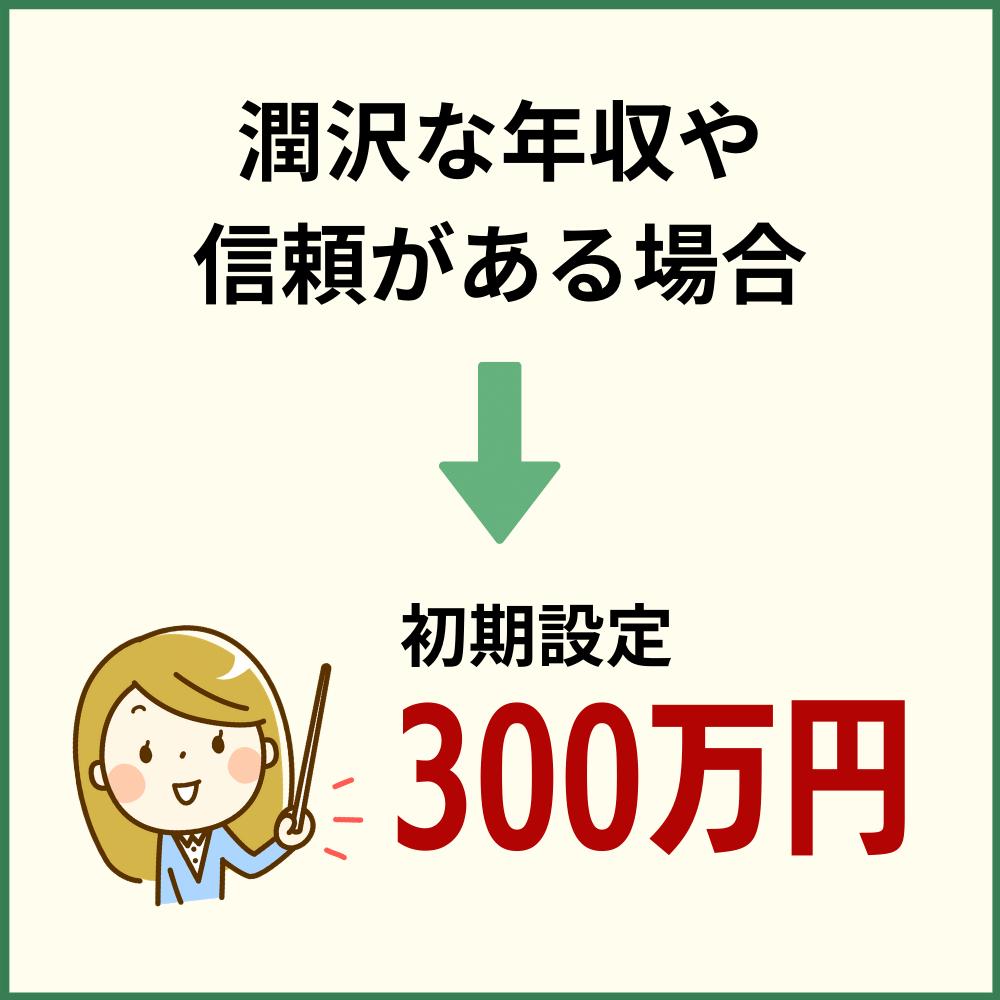 最大限度額は300万円