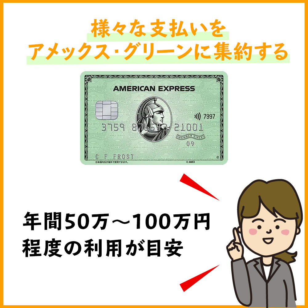 アメックス・ゴールドカードのインビテーションはアメックスでの支払いが鍵を握る