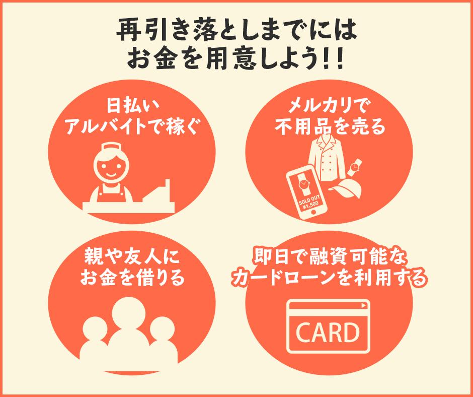 楽天カードの引き落としが間に合わなかった時の対処法