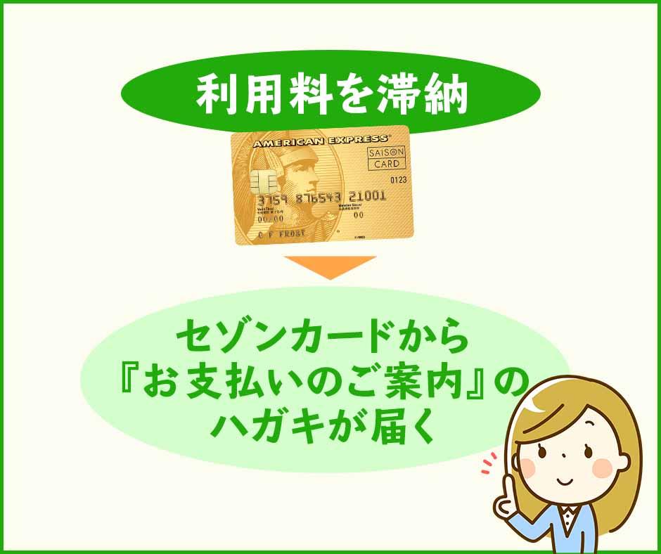 セゾンカードから届く支払案内を使ってコンビニエンスストアで支払う