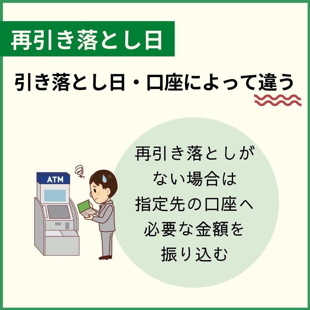 残高不足で引き落としできず!三井住友カードの再引き落としはある?