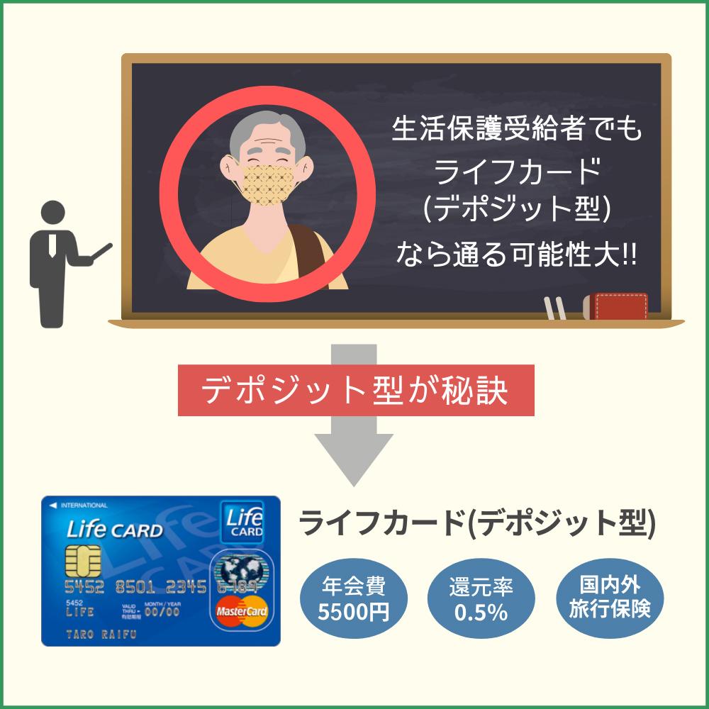 生活保護受給者でも通る可能性のあるクレジットカード