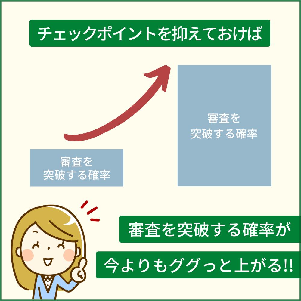 三井住友ビジネスカード for Owners ゴールドカードの審査落ちしないためのチェックポイント