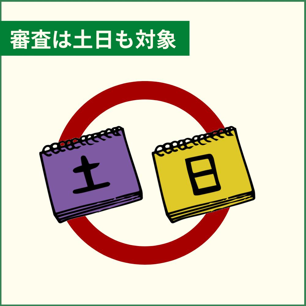三井住友カード ナンバーレス(NL)の審査は土日も対象